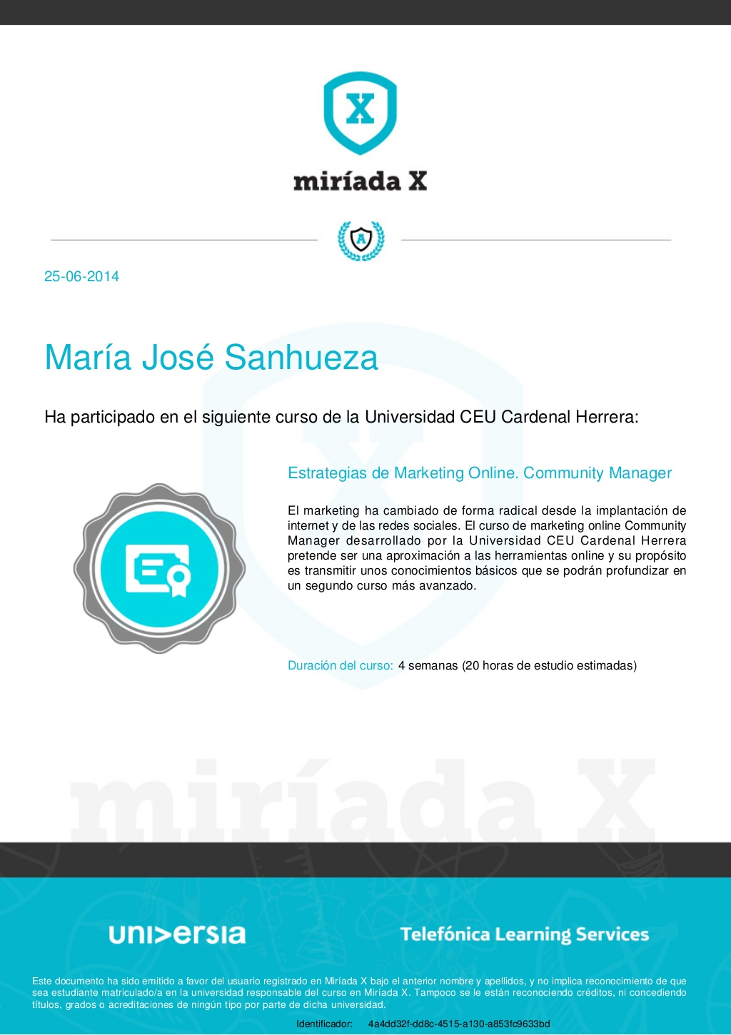 Curso Estrategias de Marketing Online. Universidad CEU Cardenal Herrera